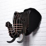 Europa Boreal Originalidade Estilo Elefante Animal Decorações criativas de casa Arte de parede pendurada