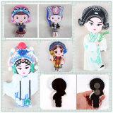 Ricordo di gomma creativo del magnete del frigorifero di stile cinese