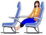 Voyage portable repose-pied pour pied de l'avion reste repose-pieds d'avion de voyage pour les voyages Home Office Report sur le vol d'accessoires de voyage relaxant Hang tabouret ESG10182