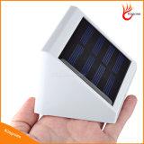 Imperméable Extérieur 4 LED Solaire Fence Lumière solaire Escaliers Jardin Lampe de sécurité