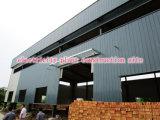 Edificio de acero industrial modificado para requisitos particulares con coste económico y diseño moderno con la instalación