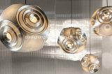 Lâmpadas irregulares do pendente da esfera do diamante o mais novo do projeto que entregam com Ce/UL