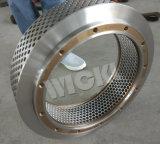 大きい穴のサイズの餌の製造所機械予備品のリングは停止する