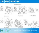 Profil en aluminium flexible avec des certificats de la CE