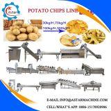 De Spaanders die van de Banaan/van de Weegbree van /Potato/ van de maniok de Spaanders die van de Lijn/van de Weegbree maken Machine verwerken