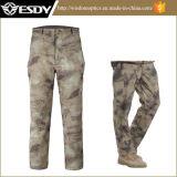 Sport esterni di Esdy che cacciano i pantaloni impermeabili tattici di campeggio di Softshell dei pantaloni