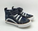Calçados de alta qualidade Jeans High Cut of Boys Vulcanized Shoes