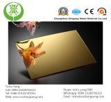 アルミニウム反射鏡シートの金カラー