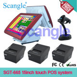 Sgt-665W Multi-Color Android POS / Touch POS système