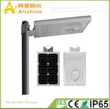 8W 5 Jaar van de Garantie integreerde de ZonneLamp van de Muur van de Straatlantaarn met Sensor PIR