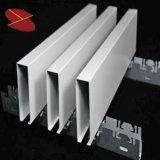 La vente chaude U-Éliminent le matériau décoratif de plafond en aluminium de cloison d'enduit de poudre