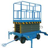 Table élévatrice à ciseaux hydraulique mobile (hauteur maximale de 7m)