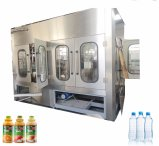 Enchimento Completo de Bebidas Líquidas de Engarrafamento Planta de Embalagem de Máquinas para Garrafa de Pet