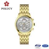 De Horloges van de Manier van de Mensen van het Roestvrij staal van de Douane van de Fabrikanten van het horloge