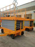 Il Mobile Scissor la piattaforma mobile a quattro ruote del carrello elevatore delle cesoie dell'elevatore