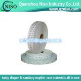 Différentes qualités Papier isolant en silicone à un seul côté pour fabricants et fabriques de serviettes hygiéniques