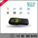 Scanner tenu dans la main PDA du code barres 1d 2D avec l'imprimante