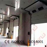 acima da porta deslizante para o armazenamento frio/porta de aço