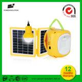 Lanterna solar portátil da iluminação Home com bulbo de suspensão
