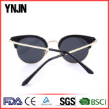 Ynjn 2017 Nuevo Diseño Exterior de metal de gafas de rayos UV400 personalizado