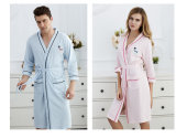 Algodão relativo à promoção /Bathrobe/Pajamas/Nightwear dos pares