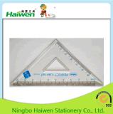 Haiwen 15cm 통치자 고정되는 Hw-R05는 PVC 지퍼 부대로 놓인 통치자를 완전히 한다
