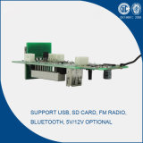 5V / 12V Bluetooth USB MP3 Player Module com FM Radio PCB (G001)