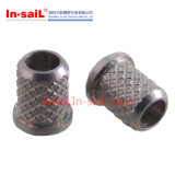 En acier inoxydable insérer les écrous à embase