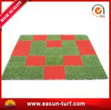 2017 Neigende Producten 30*30cm Met elkaar verbindende Kunstmatige Tegels van het Gras