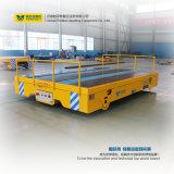Carretilla del carril del vehículo de la transferencia de la batería para la industria de acero