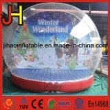 Globo gonfiabile della neve di natale, aerostato gonfiabile della tenda della bolla