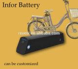 18650 36V recargable de iones de litio batería E Bike