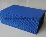 Голубая рециркулированная доска PP пластмассы полая 1220*2440mm 1000*2000mm