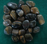 Size2.5-5cm 정원 정원사 노릇을 하기를 위한 높은 Polished 호랑이 피부 자갈 돌