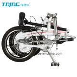 アルミ合金6061の小型シャフトドライブの折るバイク