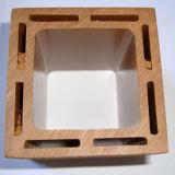 Composé en plastique en bois d'étage de jardin de qualité
