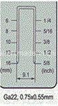 """هوائيّة أدوات مقياس 22 5/8 """" دقيقة تاج دباسة [فس7116/فس7116ب]"""