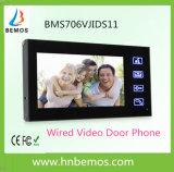 Prix bas une porte Bell visuelle de téléphone de porte de Mutifunction avec l'interphone de garantie