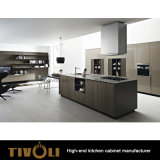 صغيرة شقّة مطبخ تصميم رخيصة رماديّ ميلامين مطبخ أثاث لازم ([أب019])
