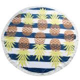 低価格の普及した円形のビーチタオル