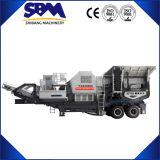 販売のために移動式粉砕機のプラント価格を採鉱する2017年の中国