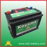 DIN75mf 12V75ah wartungsfreies Leitungskabel-saure Auto-Speicherbatterie