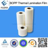Extrait gratuit BOPP Film de laminage thermique brillant pour emballage (15-27mic)