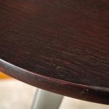 ([سب-بت704]) قضيب [بيسترو] أثاث لازم [ككتيل تبل] مستديرة خشبيّة علويّة