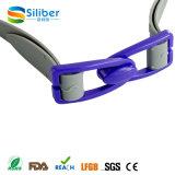 Óculos de natação anti-neblina de segurança para equipamentos de natação profissional com serviço de OEM