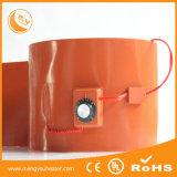 cilindro 220V plástico 200 litros, calefator da borracha de silicone