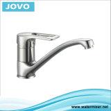 Les mesures sanitaires de la cartouche en laiton de robinet mélangeur de cuisine à poignée double JV 71907