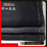 Tecido de malha de confecção de malhas de cor preta de cor preta
