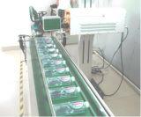 Grabador del laser de la mosca del CO2 para la línea de embalaje de la bebida