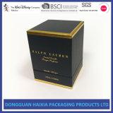 Nous vente en gros de boîte-cadeau de bougie de carton personnalisée par vente (HX-GB076)
